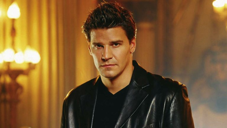 David Boreanaz played Angel in Buffy The Vampire Slayer and spin-off Angel