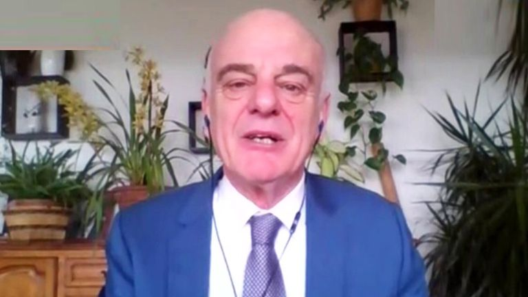 Dr David Nabarro, Special Envoy on Covid-19 for the World Health Organization