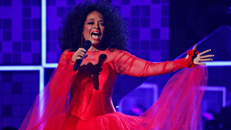 Diana Ross is set to perform on 21 June at The O2