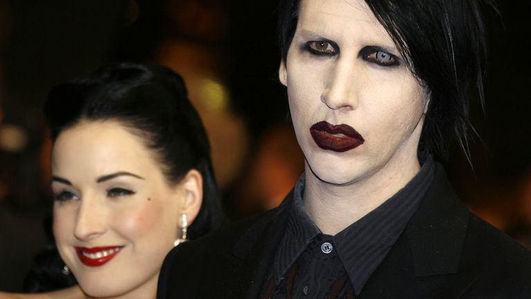 Marilyn Manson has denied all claims against him