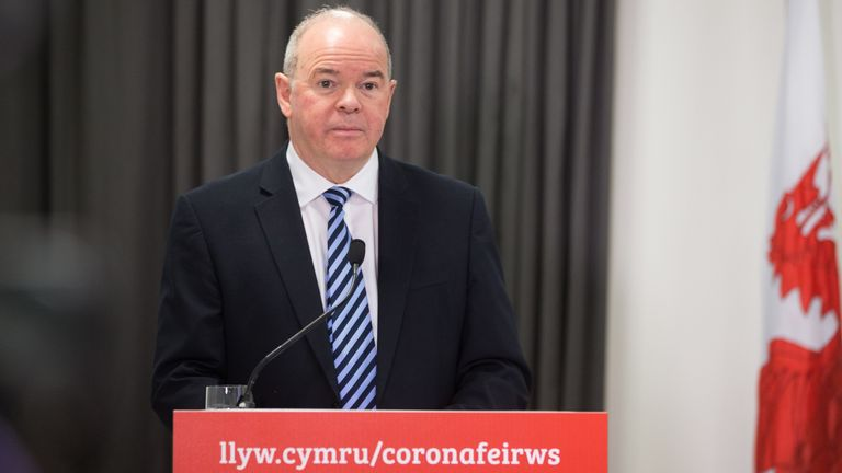 Wales Deputy Chief Medical Officer Dr Chris Jones. Pic: Gareth Everett/Huw Evans/Shutterstock