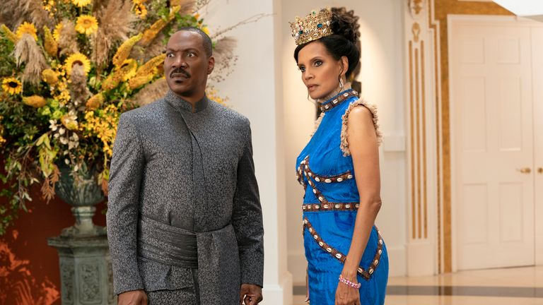 Murphy with Shari Headley as Lisa. Pic: Amazon Studios