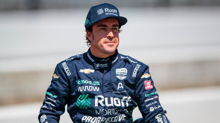 Fernando Alonso was injured in a collision while cycling