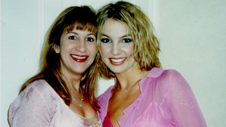 The New York Times presents Framing Britney Spears - the star pictured with assistant and friend Felicia Culotta in 2000. Pic: FX Networks