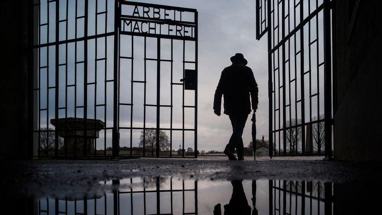 Sachsenhausen. Pic: AP