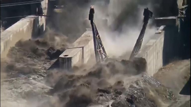 As many as 150 people were feared dead in northern India after a Himalayan glacier broke and crashed into a dam early on Sunday.