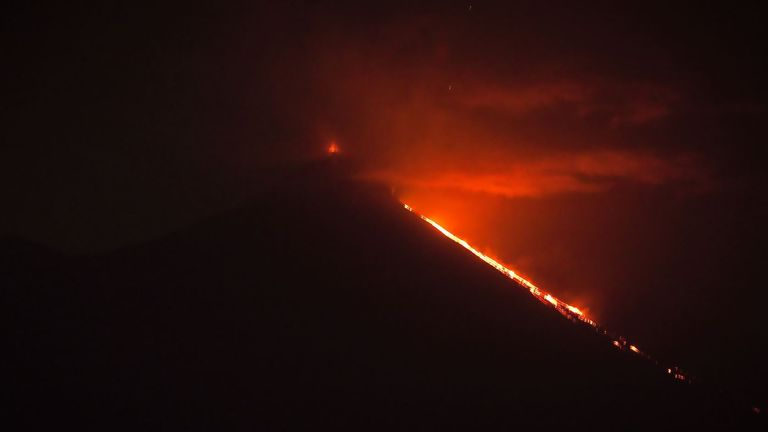 Guatemala says that three of its most active volcanos are erupting at the same time