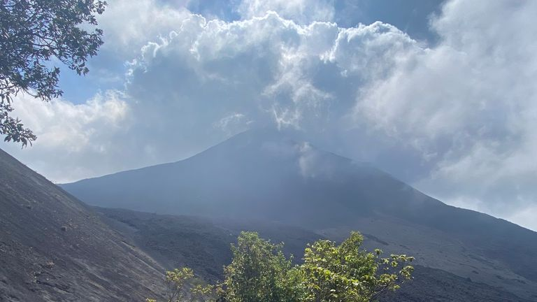 Three of Guatemala's most active volcanoes are erupting at the same time - there's nowhere to hide