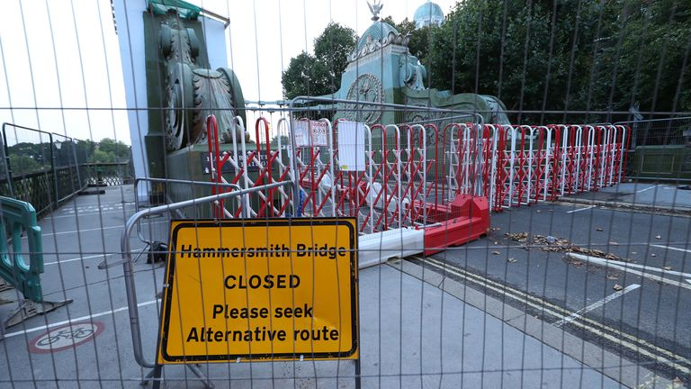 The transport secretary says Hammersmith Bridge is 'vital' - but there's no firm date for when it will reopen