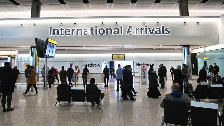 Heathrow airport. Pic: Facundo Arrizabalaga/EPA-EFE/Shutterstock
