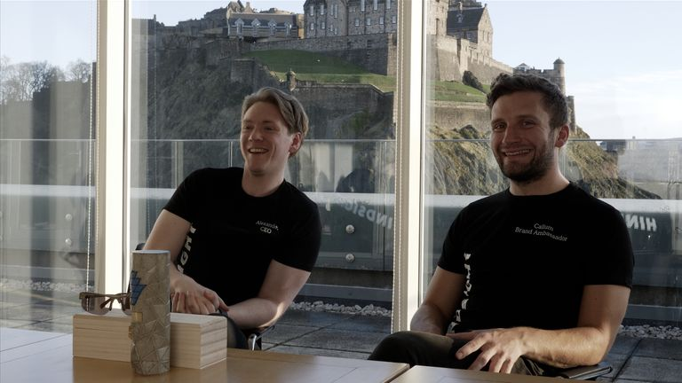 HindSight of co-founders Alex Macdonald (left) and Callum Skinner