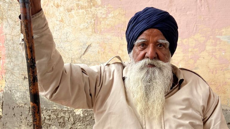 Sardar Sandhu Singh talks to Sky News about the farmers' protests in India