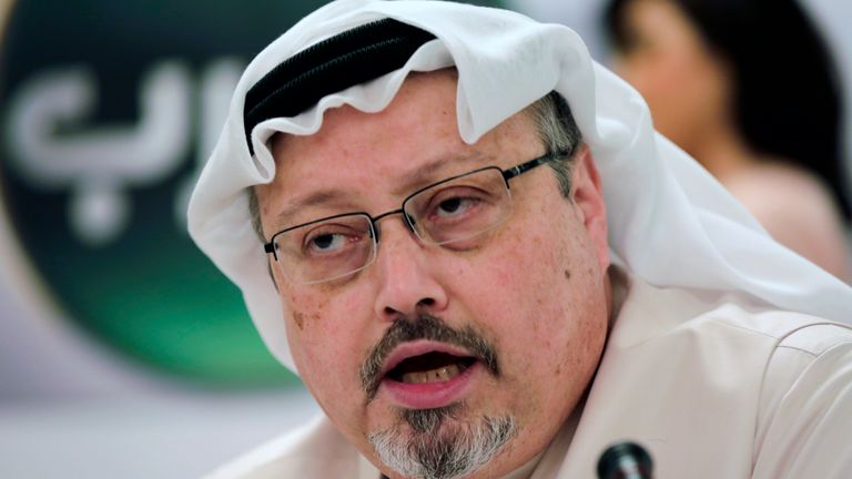 Jamal Khashoggi was killed after entering the Saudi consulate in Istanbul in 2018