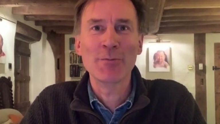 Former Health Secretary Jeremy Hunt appears on Sophy Ridge COVID: Lessons Learned special