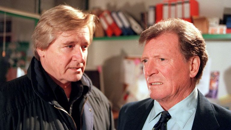 The long-running feud between characters Mike Baldwin and Ken Barlow was legendary