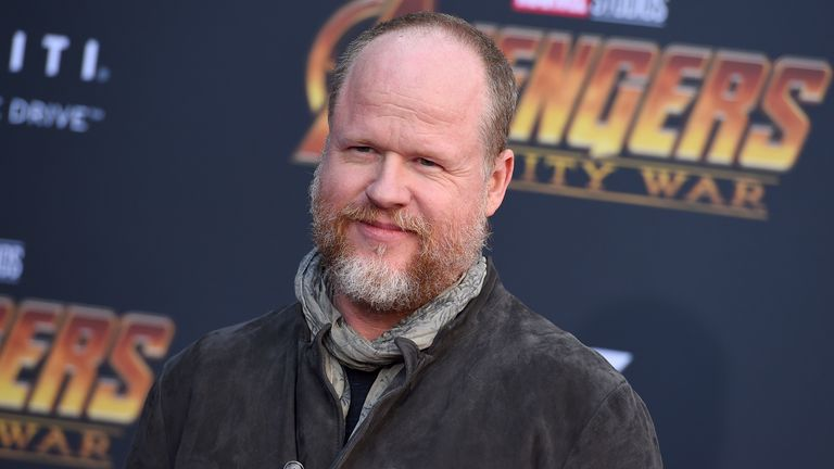 "Joss Whedon arrives at the world premiere of ""Avengers: Infinity War"" on Monday, April 23, 2018, in Los Angeles. (Photo by Jordan Strauss/Invision/AP)"