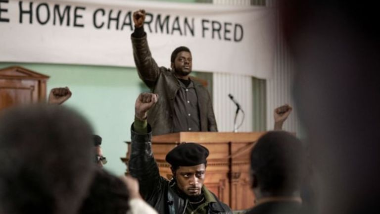 Daniel Kaluuya stars in Judas And The Black Messiah. Pic: Warner Bros
