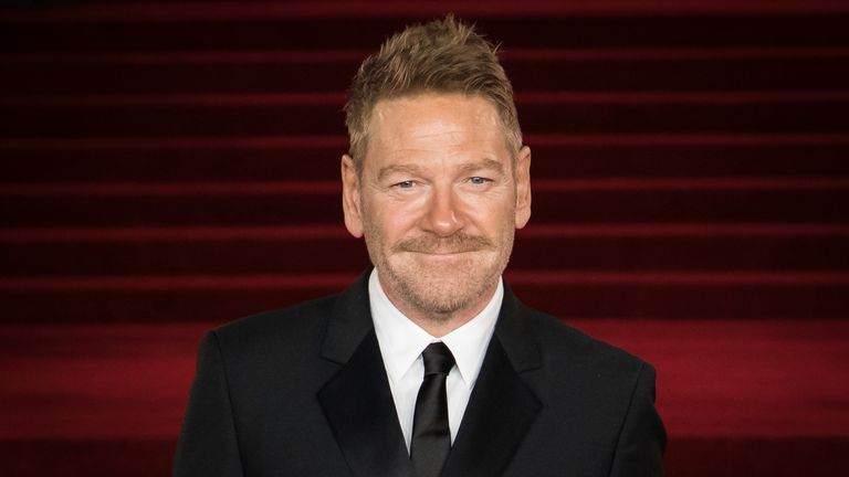 Kenneth Branagh will play Boris Johnson in This Sceptred Isle. Pic: AP