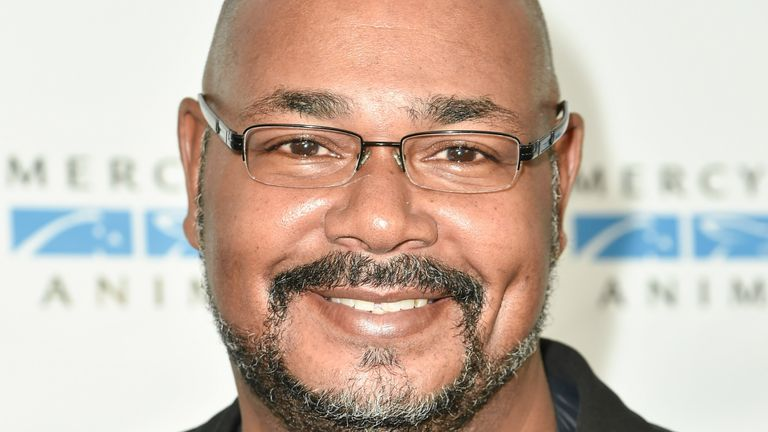 Kevin Michael Richardson arrives at the Mercy For Animals' Hidden Heroes Gala in 2015. Pic: AP