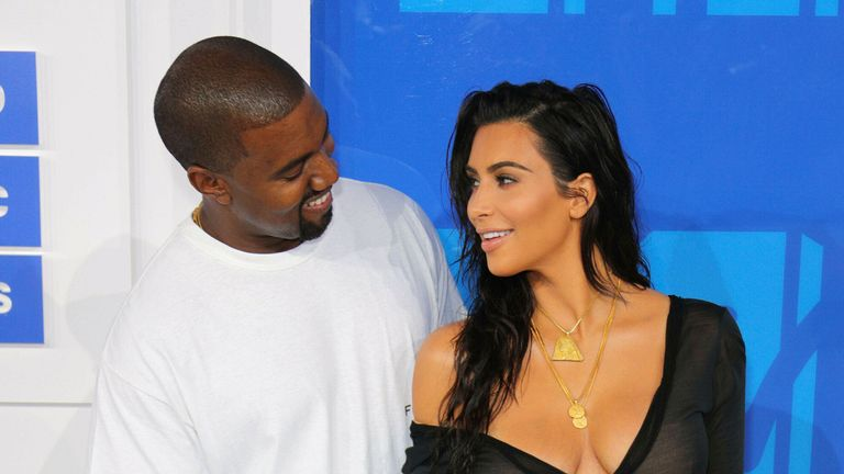 Photo by: XPX/STAR MAX/IPx.2021.2/19/21.Kim Kardashian files for divorce from Kanye West after 6 years of marriage...STAR MAX File Photo:.8/28/16.Kanye West and Kim Kardashian at The 2016 MTV Video Music Awards..(Madison Square Garden, NYC)