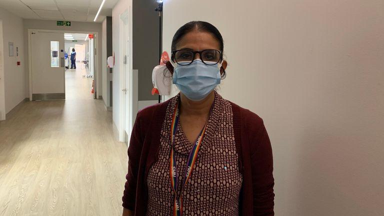 Senior Consultant Obstetrician and Gynaecologist at Kingston Hospital – Meena Shankar
