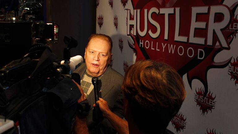 Larry Flynt, pictured here in 2012, has reportedly died