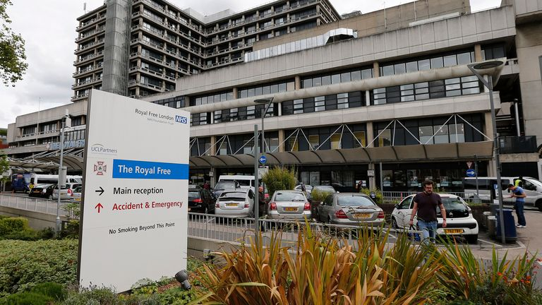 The trial will take place at The Royal Free Hospital in London