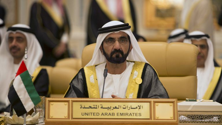 Sheikh Mohammed is one of the most powerful people in the Middle East