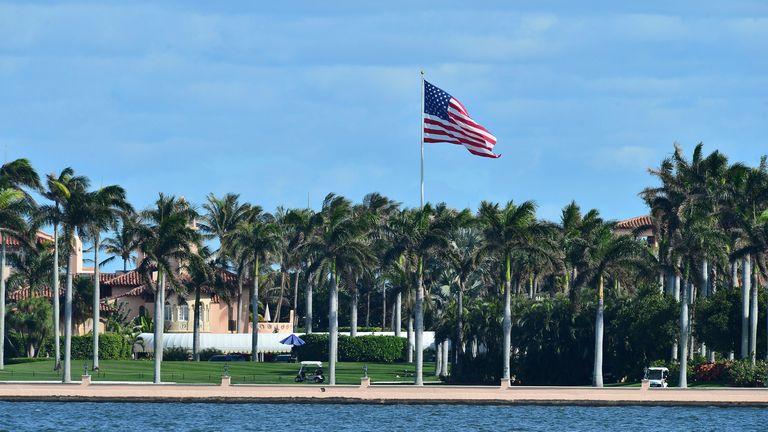 The Trump Mar-A-Lago Estate di Palm Beach.  Foto: AP