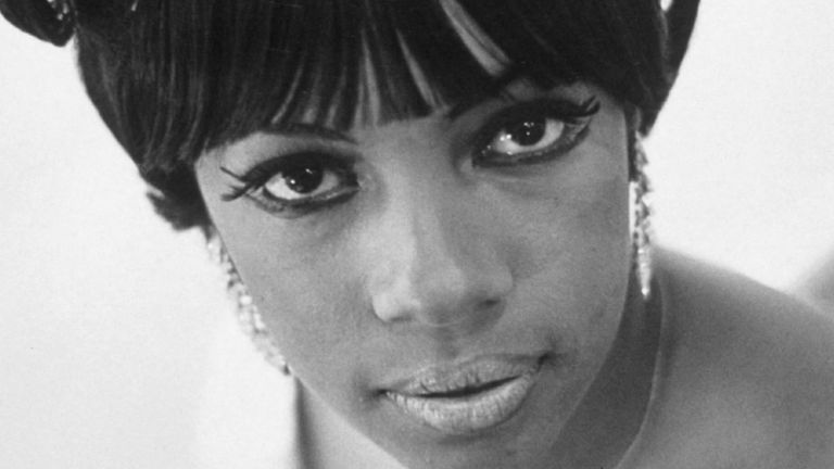 Mary Wilson of The Supremes pictured in 1966