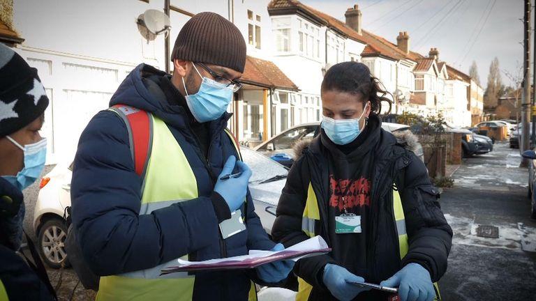 Surge testing in Merton, South London