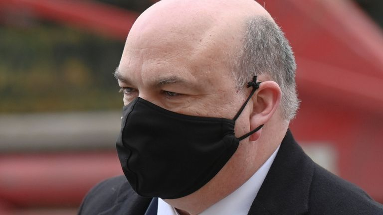 Mike Lynch arrives at Westminster Magistrates Court on Friday