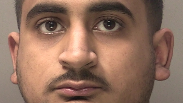Muhammad Nadeem has admitted assault and dangerous driving. Pic: West Midlands Police
