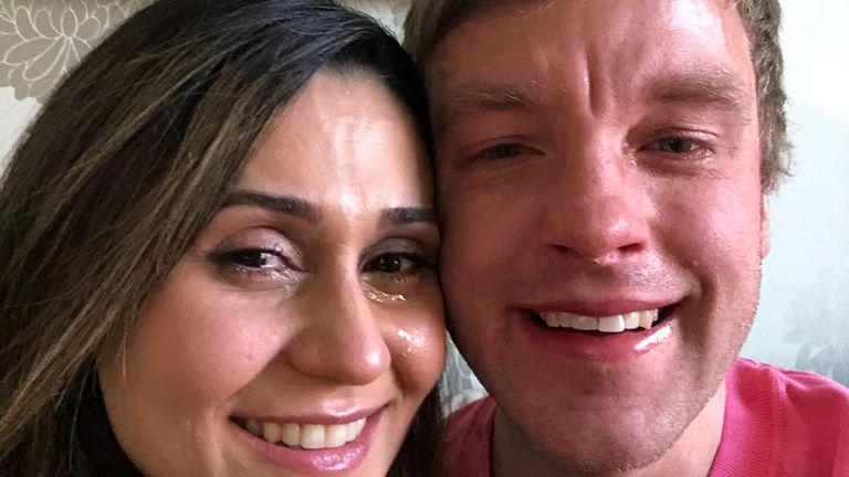 Mona and Ricky Smith
