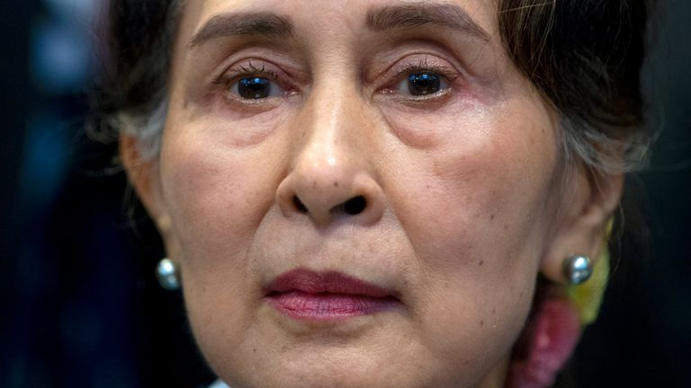 Aung San Suu Kyi has been charged with breaching import and export laws