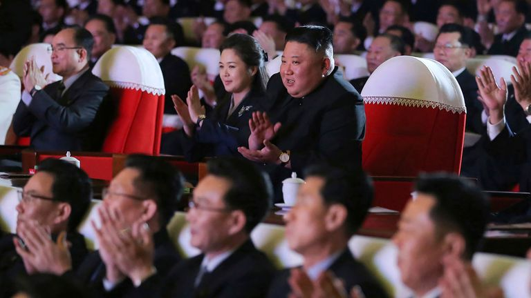 The birthday of Kim's late father and former leader Kim Jong Il is one of the country's biggest holidays