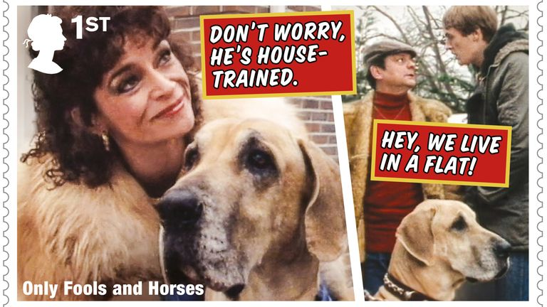 Royal Mail celebrates 40th anniversary of Only Fools and Horses