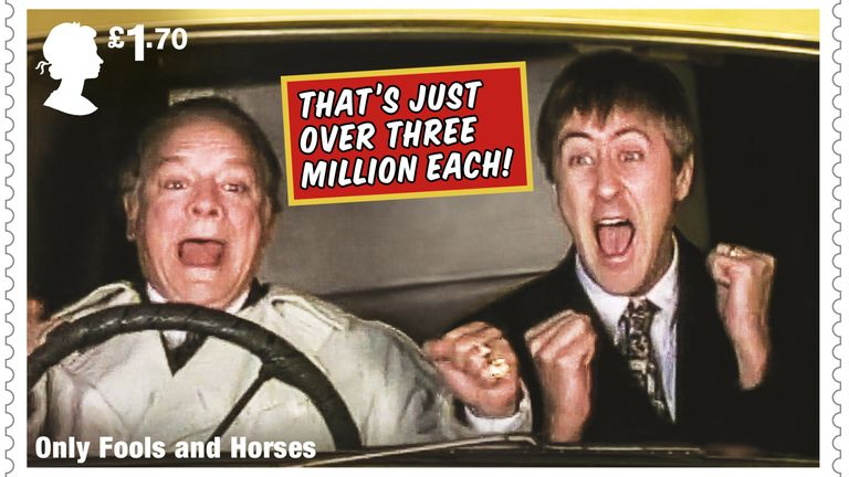 Royal Mail celebrates 40 years of Only Fools and Horses