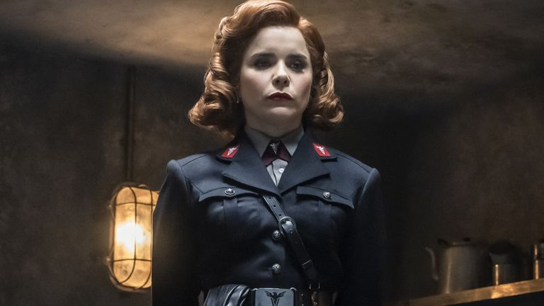 Paloma Faith in Pennyworth. Pic: Lionsgate/Starzplay