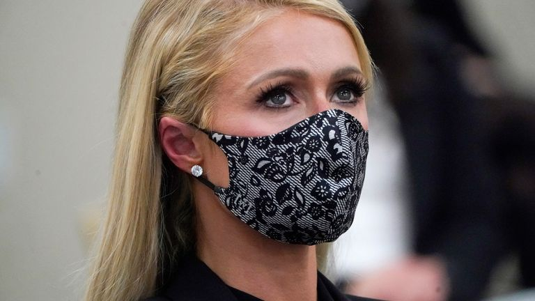 Paris Hilton has called on the top levels of  the US government to get involved in the troubled teen industry
