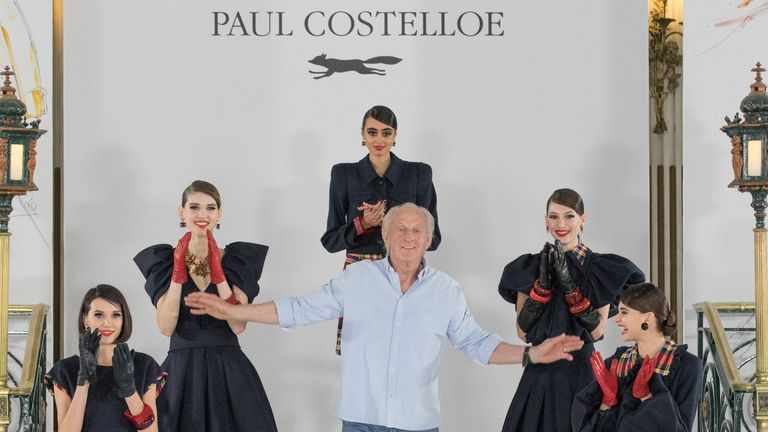 Paul Costelloe - Modèles AW21.  Pic: BFC