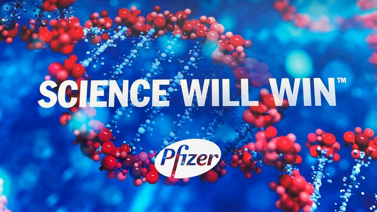 The Pfizer vaccine is up to 85% effective after the first dose, a new Israeli study has found. Pic: AP