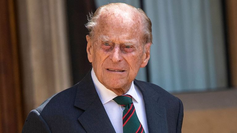 Prince Philip: Duke of Edinburgh moved to different hospital to continue  treatment for infection | UK News | Sky News