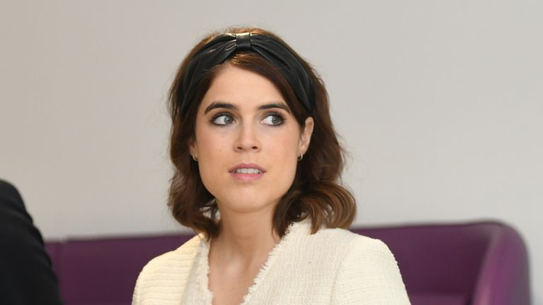 Princess Eugenie and Jack Brooksbank pictured in March 2019