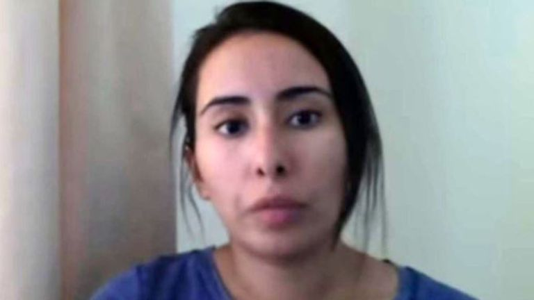 Sheikha Latifa al Maktoum is missing. Credit: Detained in Dubai