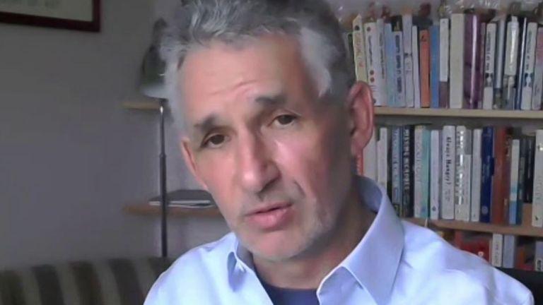 Professor Tim Spector has been examining collected data on vaccine efficacy