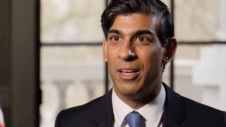 Rishi Sunak talks to Ed Conway about future of economy