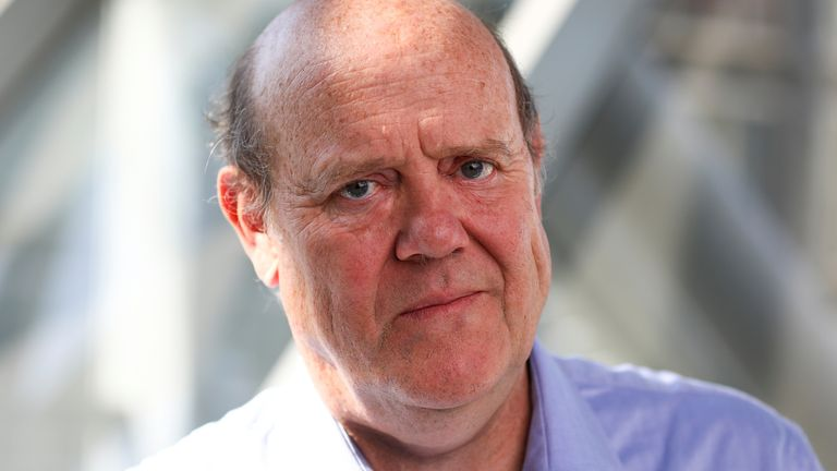 Rupert Soames, CEO of Serco Group Plc poses for a photograph at their offices in London, Britain, July 3, 2018
