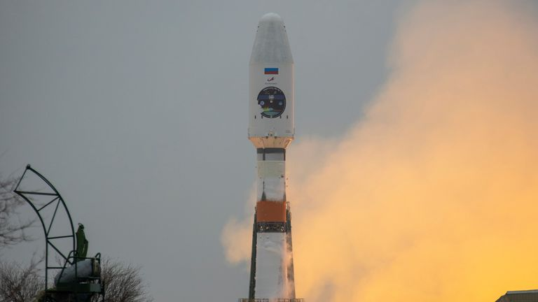 Pic: RUSSIAN SPACE AGENCY ROSCOSMOS
