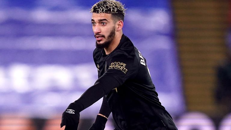 West Ham United's Said Benrahma during the Premier League match at Selhurst Park, London. Picture date: Tuesday January 26, 2021.
